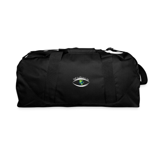 Self Sufficient Me Logo Large - Duffel Bag
