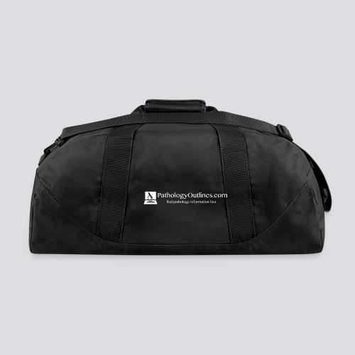 Pathology Outlines Full Logo - Duffel Bag