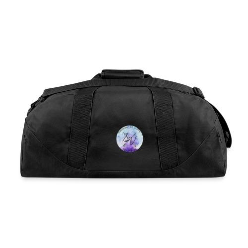 everyday is a new adventure logo - Duffel Bag