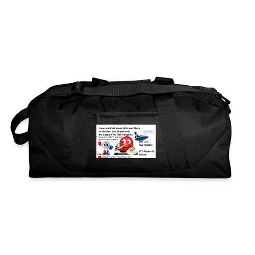 OT Live Stream Tshirt with Crew Back Logo - Duffel Bag
