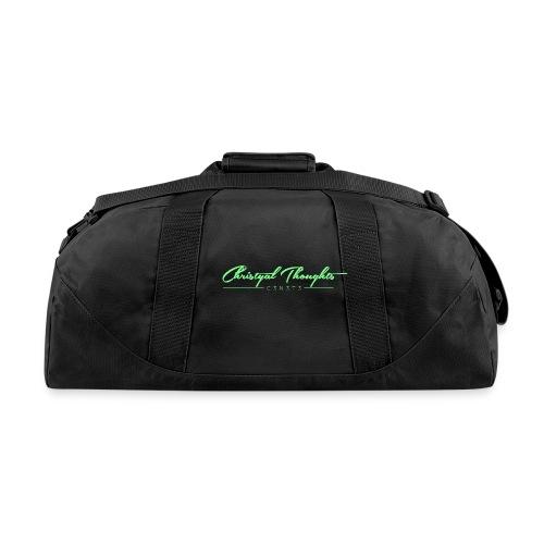 Christyal Thoughts C3N3T31 Lime png - Duffel Bag