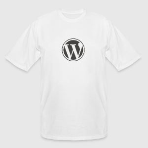 wordpress logo notext - Men's Tall T-Shirt