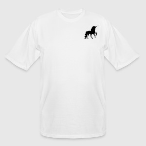 Prancing Unicorn - Men's Tall T-Shirt