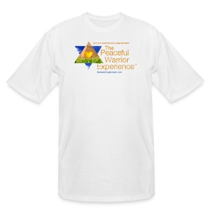The Peaceful Warrior Experience t-shirt 1 - Men's Tall T-Shirt