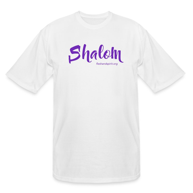 shalom t-shirt - Men's Tall T-Shirt