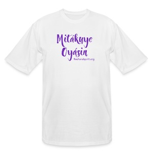 mitakuye oyasin t-shirt - Men's Tall T-Shirt