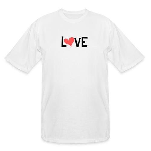 LOVE heart - Men's Tall T-Shirt