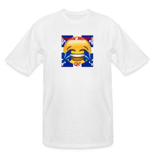 T-Shirt Normie Memes QC BLEU ROI - Men's Tall T-Shirt