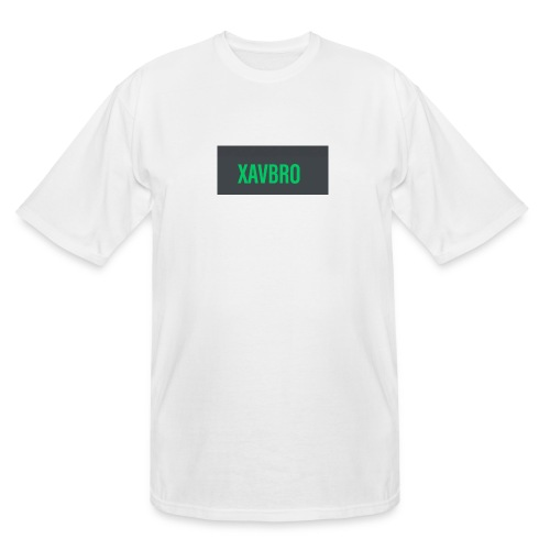 xavbro green logo - Men's Tall T-Shirt