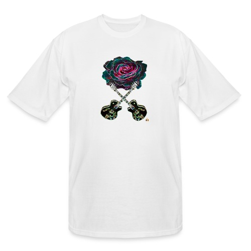 Black Rose - Men's Tall T-Shirt