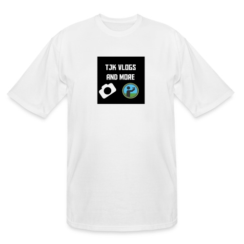 TJK Vlogs and More logo clothing - Men's Tall T-Shirt