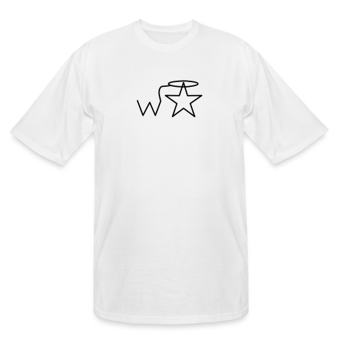 wstar vector - Men's Tall T-Shirt