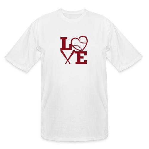Love baseball - Men's Tall T-Shirt