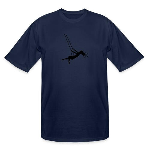 Swinging Girl - Men's Tall T-Shirt