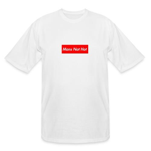 Mans Not Hot - Men's Tall T-Shirt