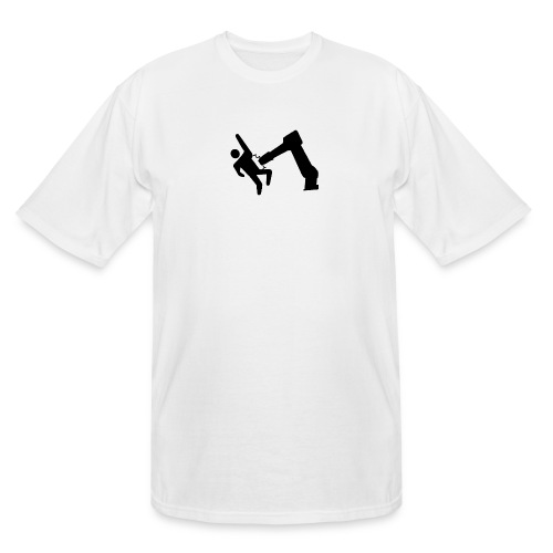 Robot Wins! - Men's Tall T-Shirt