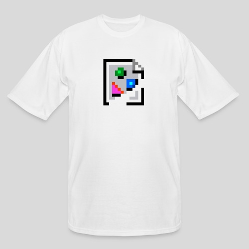 Broken Graphic / Missing image icon Mug - Men's Tall T-Shirt