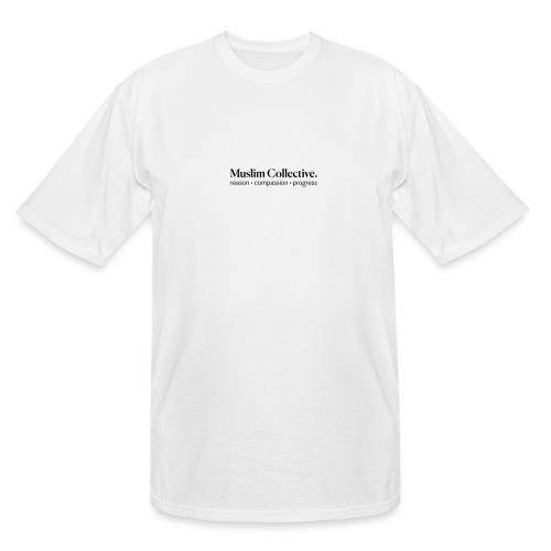 Muslim Collective Logo + tagline - Men's Tall T-Shirt