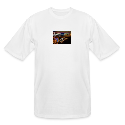 Melted Neon Dali - Men's Tall T-Shirt