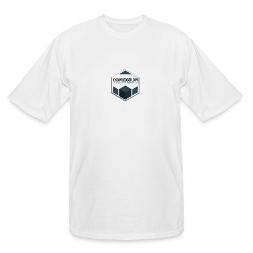 KnowledgeFlow Cybersafety Champion - Men's Tall T-Shirt