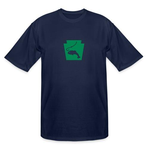 Pennsylvania Fishing Keystone PA - Men's Tall T-Shirt