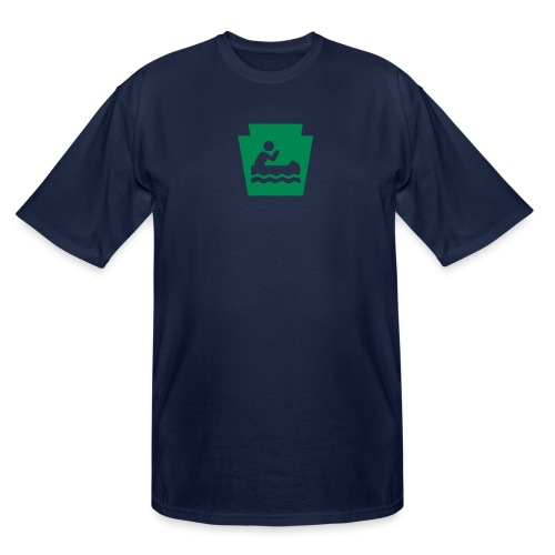 Pennsylvania Keystone Boater PA - Men's Tall T-Shirt