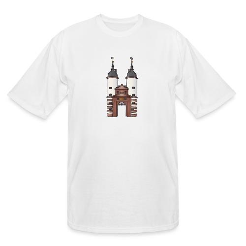 Bridge gate Heidelberg, FRG - Men's Tall T-Shirt