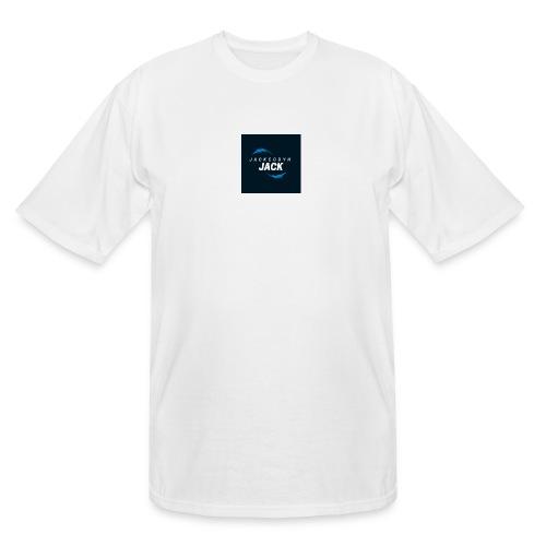 JackCodyH blue lightning bolt - Men's Tall T-Shirt