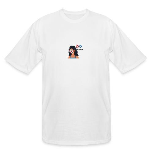 #BLM FIRST Girl Supporter - Men's Tall T-Shirt