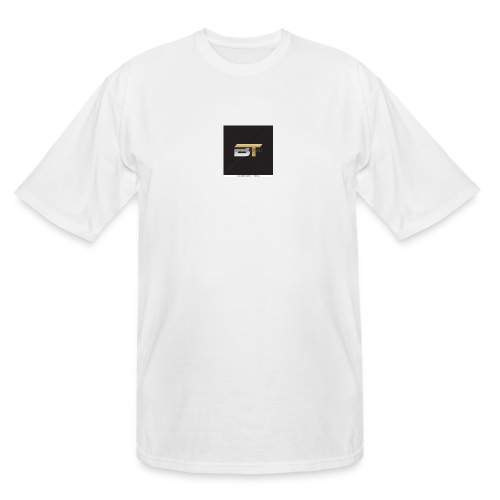 BT logo golden - Men's Tall T-Shirt