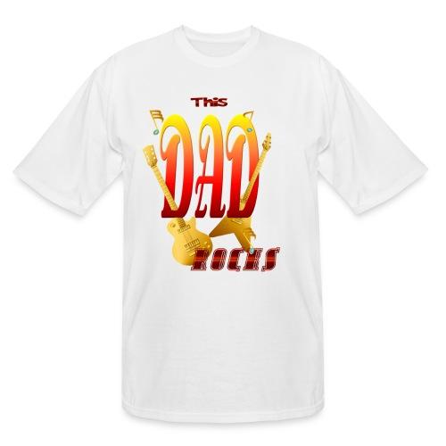 This Dad Rocks! - Men's Tall T-Shirt