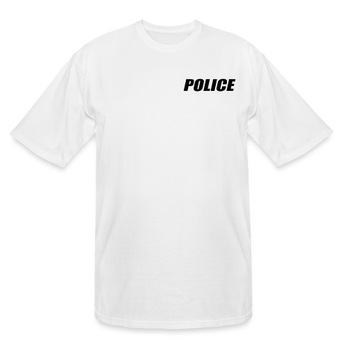Police Black - Men's Tall T-Shirt