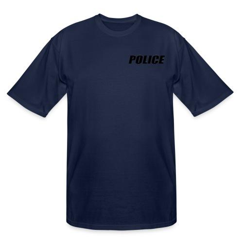 Police Black - Men's Tall T-Shirt