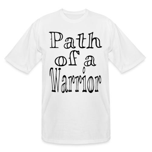 Path of a Warrior (White) - Men's Tall T-Shirt