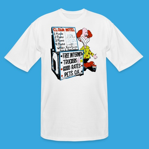 Clown Sleep - Men's Tall T-Shirt