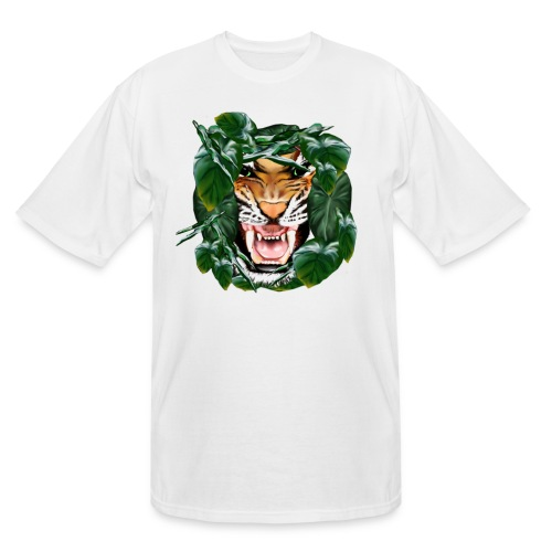 Tiger thru the leaves - Men's Tall T-Shirt