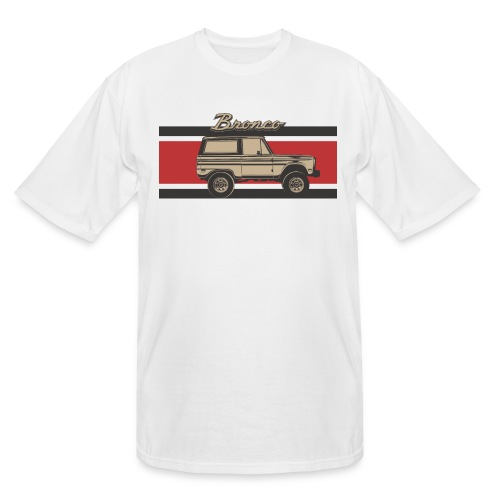 Bronco Truck Billet Design Men's T-Shirt - Men's Tall T-Shirt