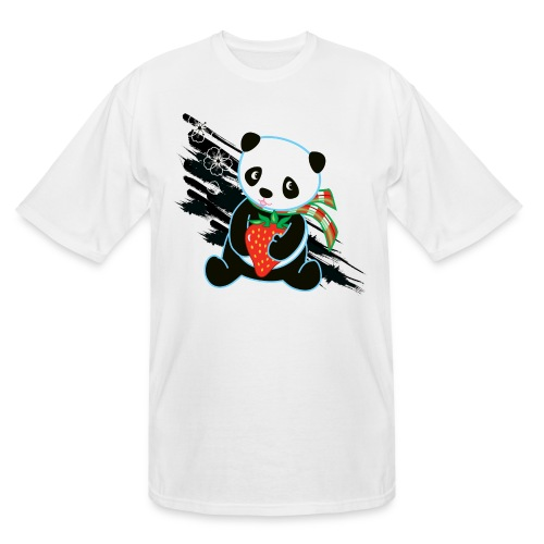 Cute Kawaii Panda T-shirt by Banzai Chicks - Men's Tall T-Shirt