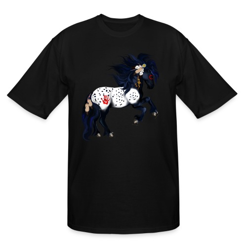 Appaloosa War Pony - Men's Tall T-Shirt