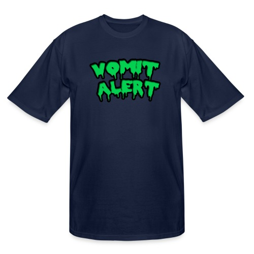 vomit alert design - Men's Tall T-Shirt