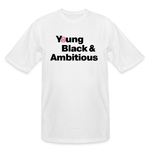 YBA white and gray shirt - Men's Tall T-Shirt