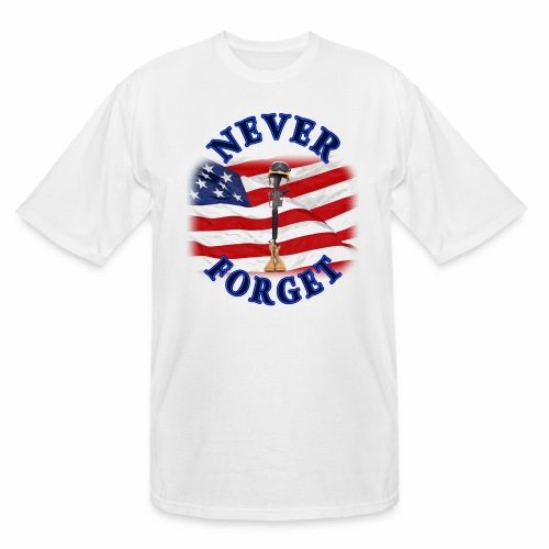 Never Forget - Men's Tall T-Shirt