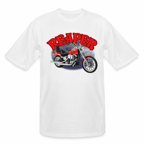 Motorcycle Reaper - Men's Tall T-Shirt