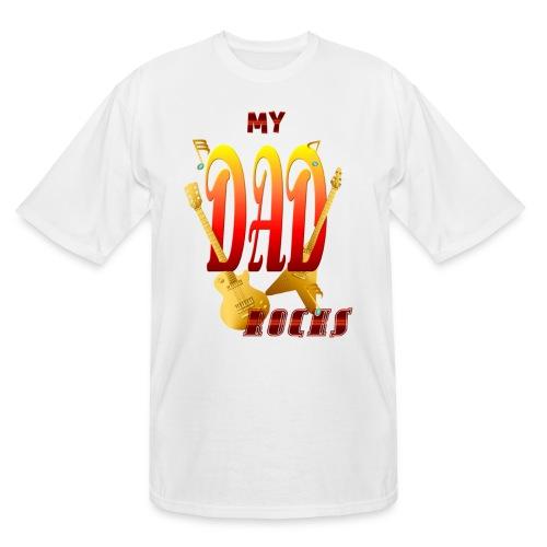 My Dad Rocks! - Men's Tall T-Shirt