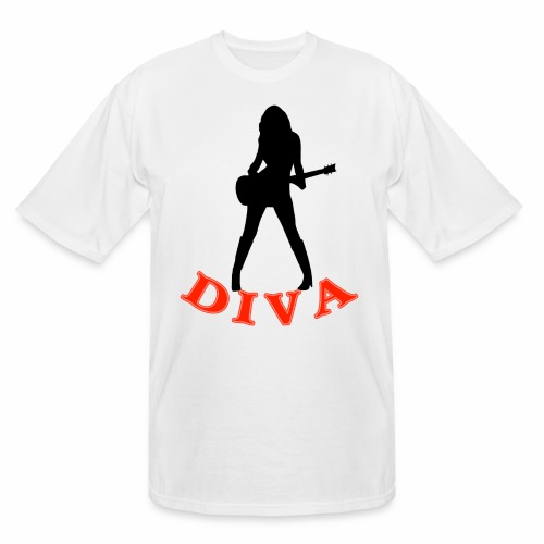 Rock Star Diva - Men's Tall T-Shirt