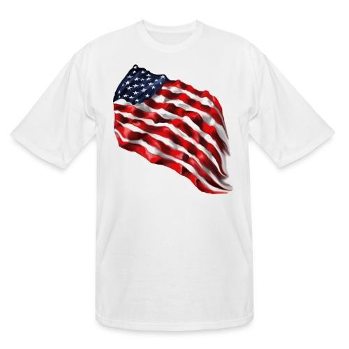 Bold Flag - Men's Tall T-Shirt