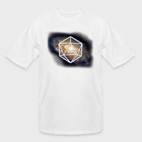 Geek Galaxy d20 - Men's Tall T-Shirt