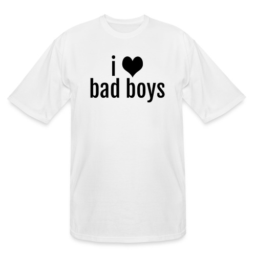 love-bad-boys - Men's Tall T-Shirt