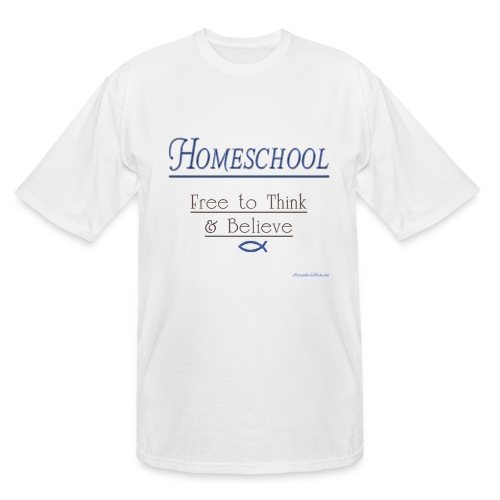 Homeschool Freedom - Men's Tall T-Shirt