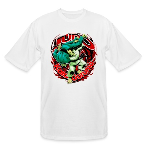 Judo Kata Guruma - Men's Tall T-Shirt